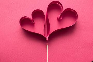 ハート型とマッチ 愛情のイメージ