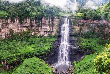 Tequendama Falls near Bogota, Colombia