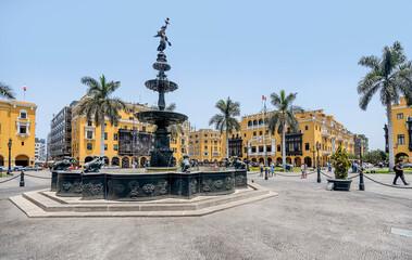 Plaza de Armas of Lima, Peru