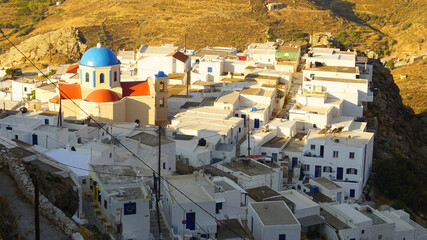 Photo of picturesque island of Serifos on a summer morning, Cyclades, Greece