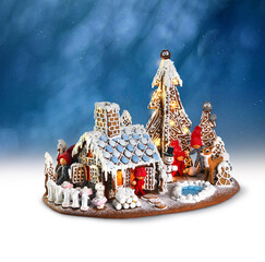 Xmas gingerbread house