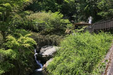 徳島県つるぎ町 土々呂の滝