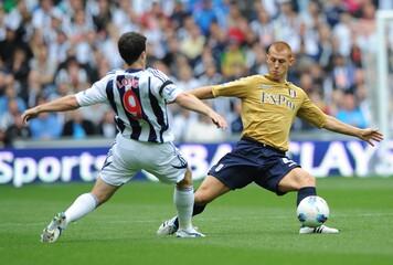 West Bromwich Albion v Fulham Barclays Premier League