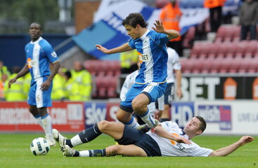 Wigan Athletic v Bolton Wanderers Barclays Premier League