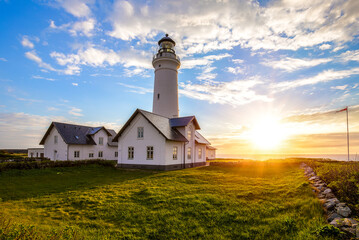 Hirtshals Lighthouse Wall mural