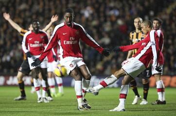 Hull City v Arsenal Barclays Premier League