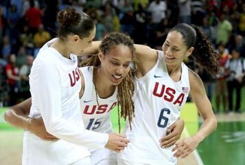 Basketball - Women's Gold Medal Game USA v Spain