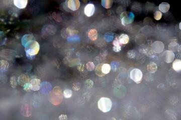 Soap Bubbles Colors Background Bokeh
