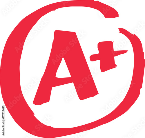 """""""A+ Grade Exam"""" Stock image and royalty-free vector files on Fotolia.com - Pic 157829643"""