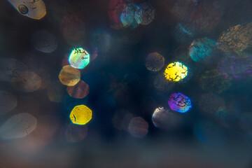 Soap Bubbles Colors Background