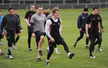 Wigan Warriors Training - Probiz World Club Challenge 2011 Preview