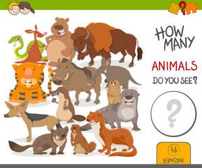 how many animals activity game