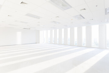 Store, interior, office, empty room, market, background.