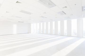 Store, interior, office, empty room, market, background.