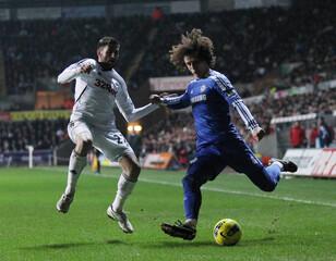 Swansea City v Chelsea Barclays Premier League