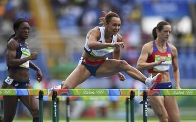 Athletics - Women's Heptathlon 100m Hurdles