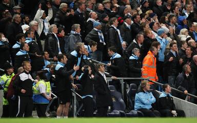 Manchester City v Manchester United Barclays Premier League