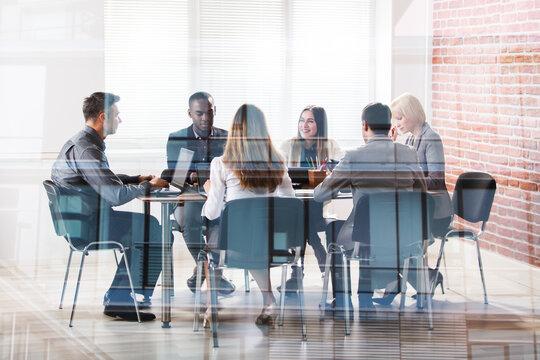 Businesspeople In Meeting