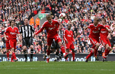 Liverpool v Newcastle United Barclays Premier League