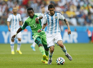 Nigeria v Argentina - FIFA World Cup Brazil 2014 - Group F