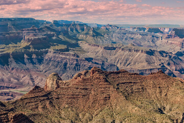 Scenic Grand Canyon Landscape
