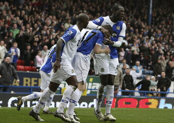 Blackburn Rovers v West Ham United Barclays Premier League