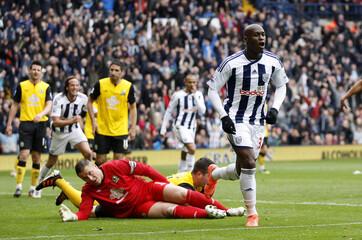 West Bromwich Albion v Blackburn Rovers Barclays Premier League