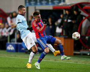 CSKA Moscow v Manchester City - UEFA Champions League Group Stage Matchday Three Group E