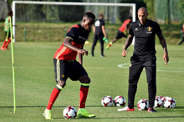 Belgium v Spain - Training