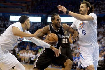 NBA: Playoffs-San Antonio Spurs at Oklahoma City Thunder
