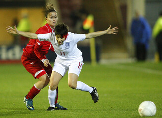 England v Malta 2011 FIFA Women's World Cup Qualifying European Zone - Group Five