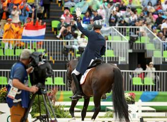 Equestrian - Dressage Team Grand Prix Special