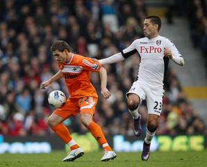 Fulham v Swansea City Barclays Premier League