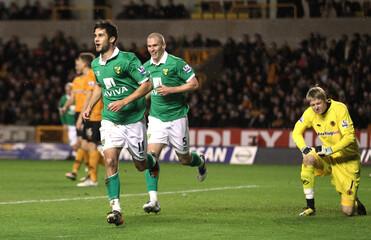 Wolverhampton Wanderers v Norwich City Barclays Premier League