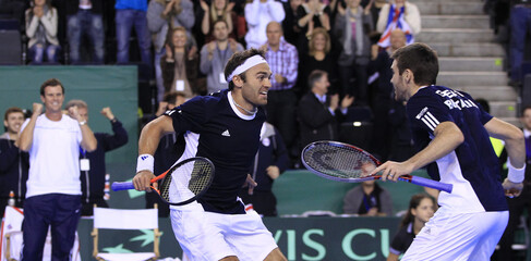 Great Britain v Slovakia Davis Cup Europe/Africa Zone Group I First Round