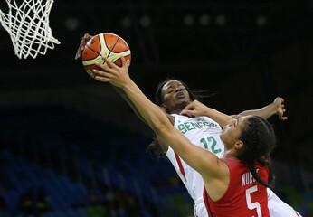 Basketball - Women's Preliminary Round Group B Senegal v Canada