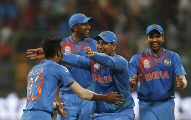 Cricket - India v Bangladesh - World Twenty20 cricket tournament