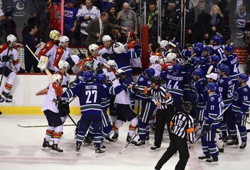 NHL: Florida Panthers at Vancouver Canucks