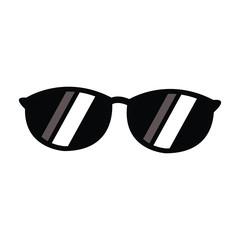 sunglasses accessory fashion travel design style vector illustration