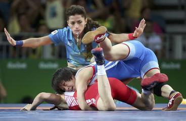 Wrestling - Women's Freestyle 53 kg 1/8 Finals
