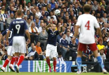 Scotland v Czech Republic UEFA Euro 2012 Qualifying Group I