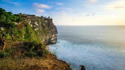 Uluwatu cliff in Bali - Indonesia