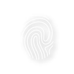 Icon mit Schatten - Fingerabdruck Identität