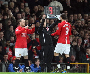 Manchester United v Fulham Barclays Premier League