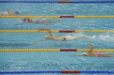 Swimming- European Aquatics Elite Championships- Men's 1500m freestyle final.