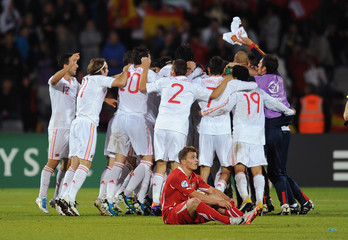 Spain v Switzerland 2011 UEFA European Under-21 Championship Final