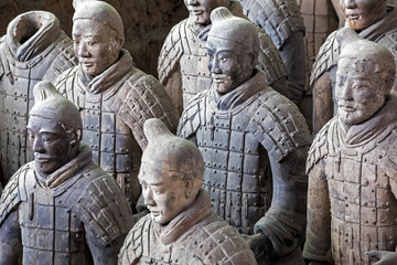 Photo sur Plexiglas Xian World famous Terracotta Army located in Xian China