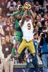 NCAA Football: Notre Dame vs Boston College