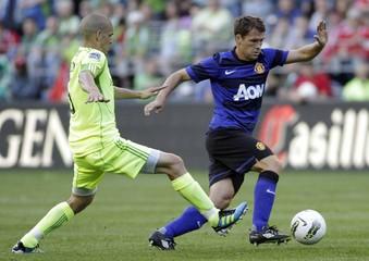 Seattle Sounders v Manchester United Pre Season Friendly