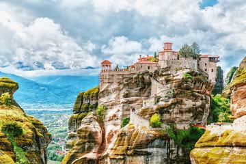 Fototapeta Monastery Meteora Greece.